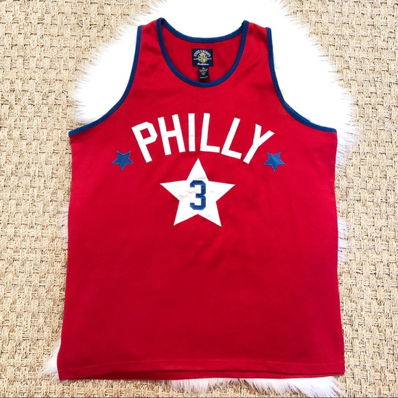 more photos 995f3 c4a97 Steve & Barry's Philly 76er Sixer Iverson Jersey M